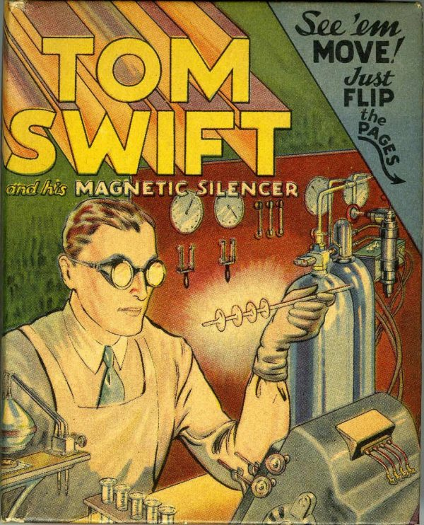 Big Little Book #1437 Tom Swift and his Magnetic Silencer