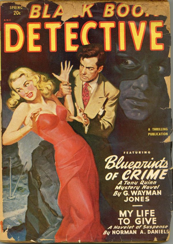 Black Book Detective Magazine Spring 1949