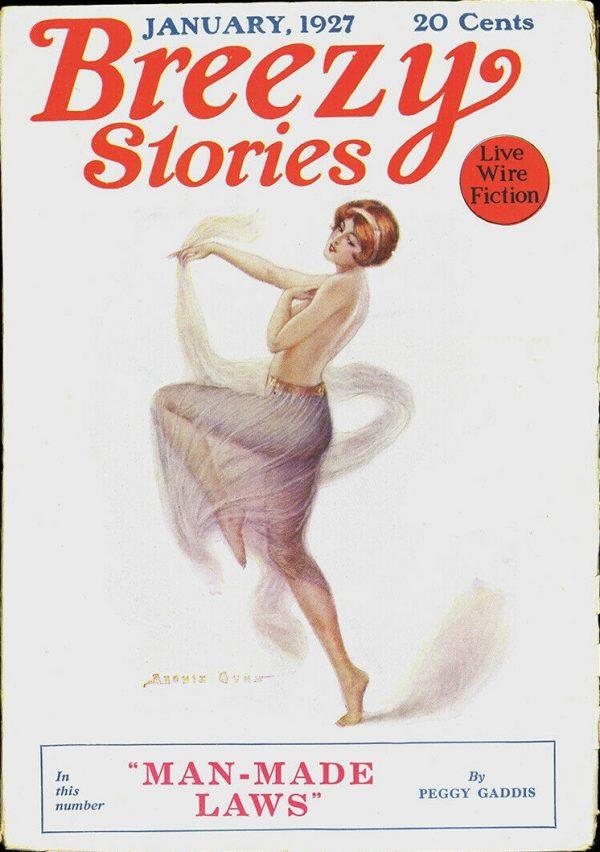 Breezy Stories January 1927