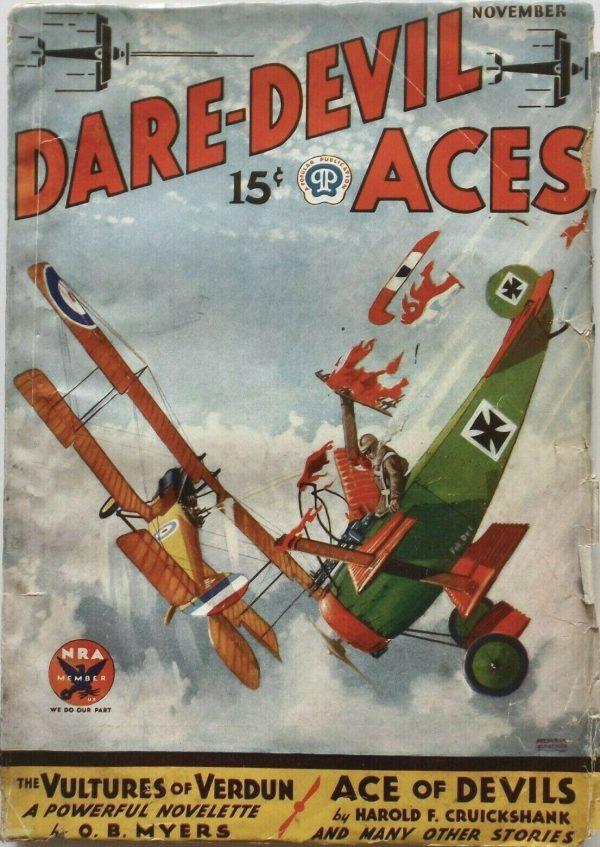 Dare-Devil Aces November 1933