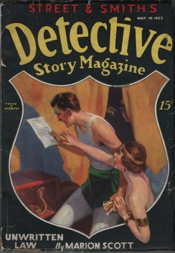 Detective Story Magazine 1933 May 10