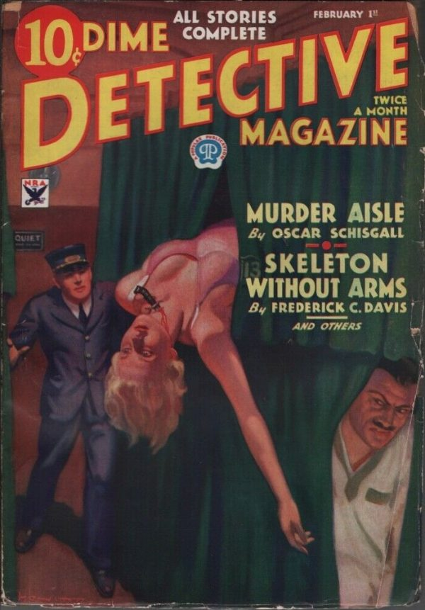 Dime Detective 1934 February 1