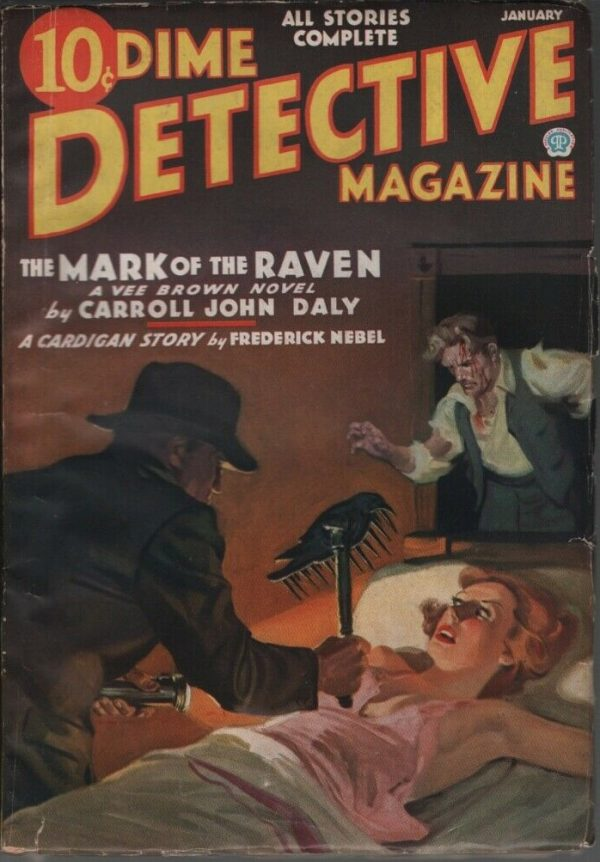 Dime Detective 1936 January