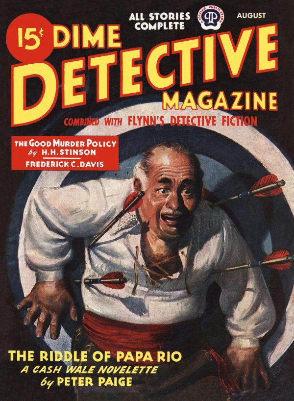 Dime Detective August 1945