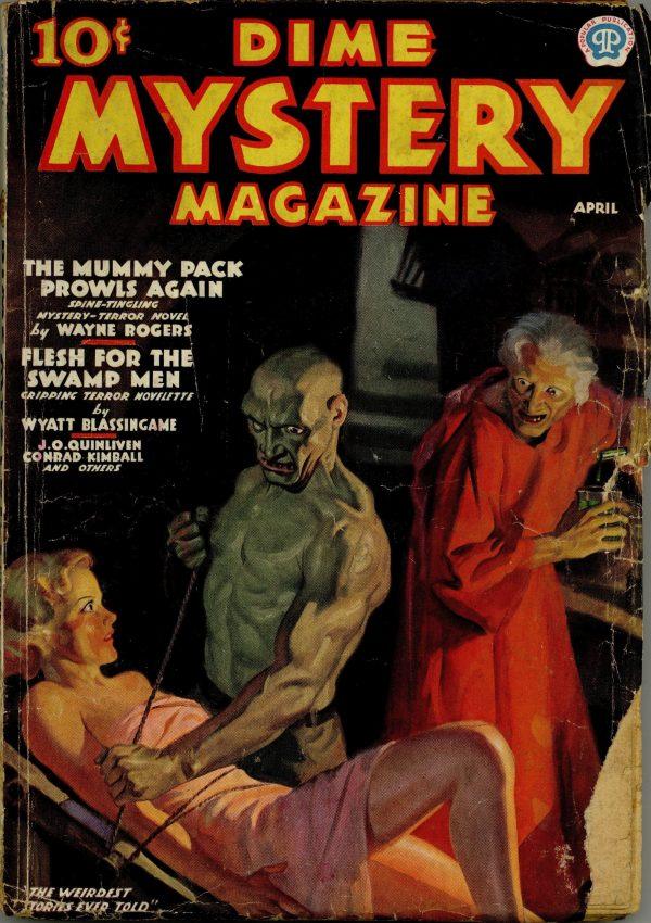 Dime Mystery Magazine April 1937