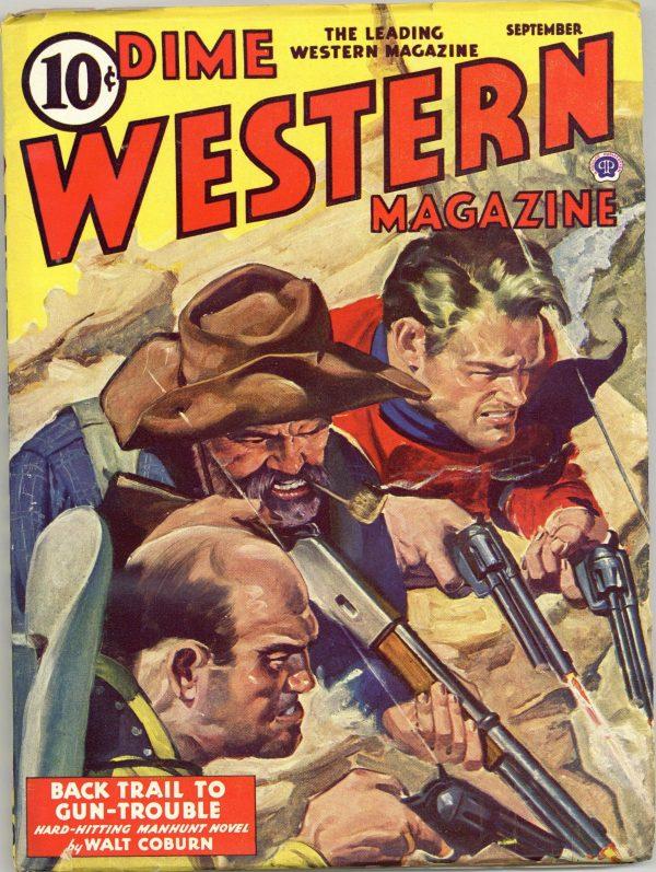 Dime Western Magazine September 1943