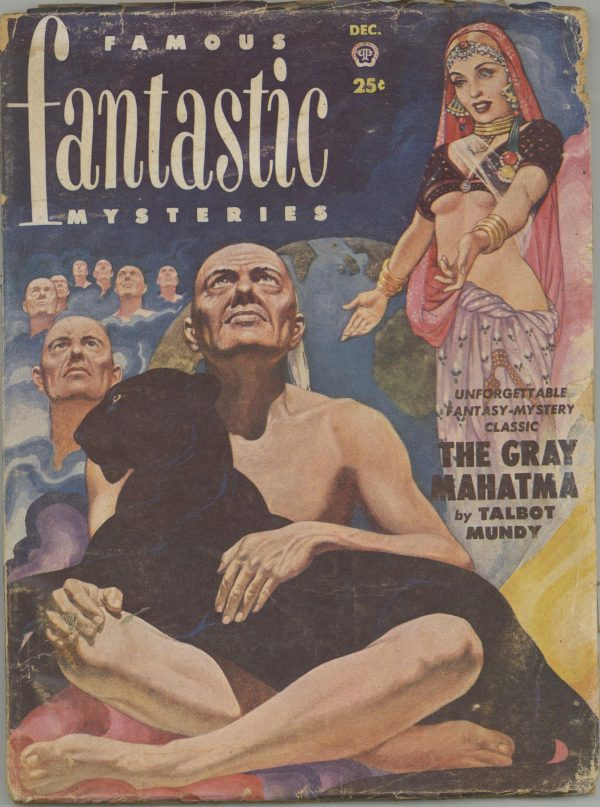 Famous Fantastic Mysteries December 1951