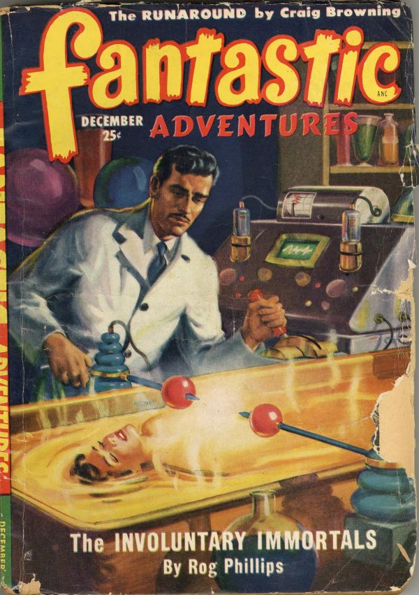 Fantastic Adventures, December 1949