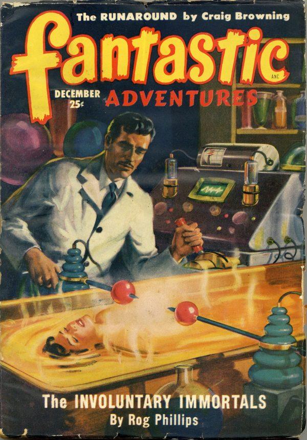Fantastic Adventures Pulp Dec 1949