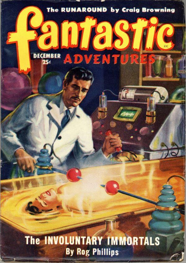 Fantastic Adventures Pulp December 1949