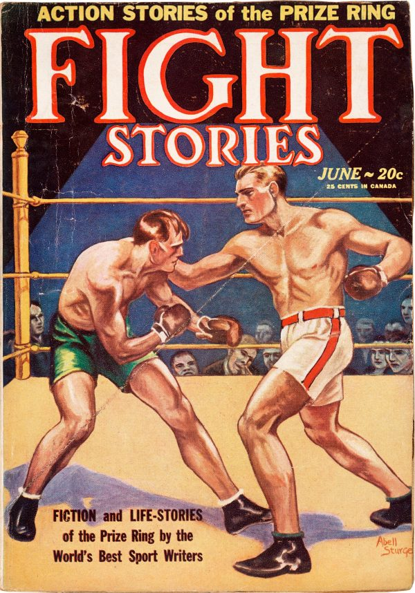 Fight Stories - June 1928