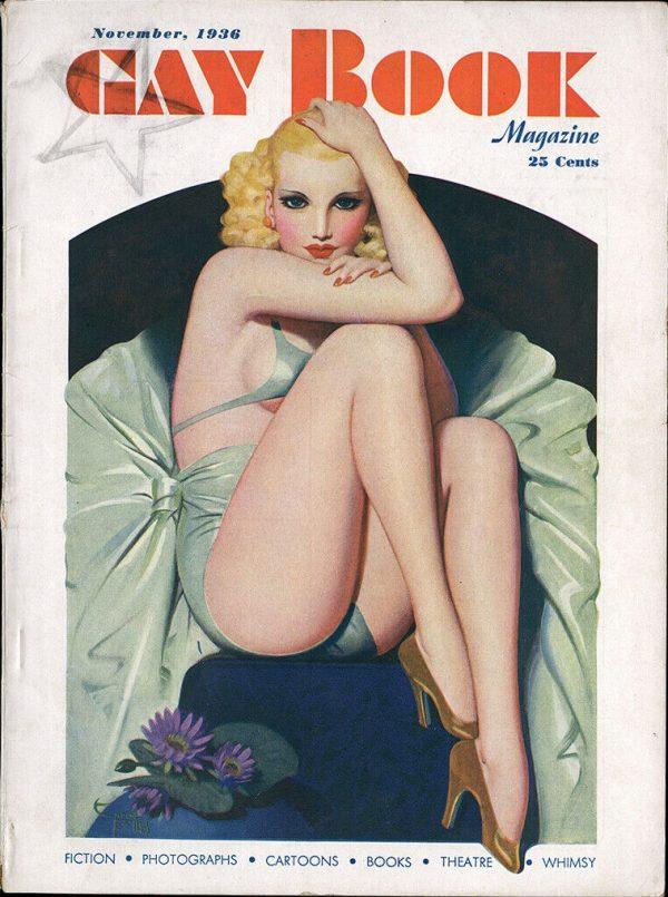 Gay Book Magazine November 1936