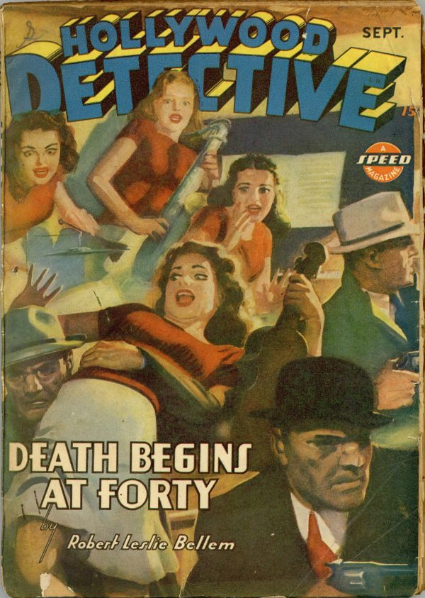 Hollywood Detective September 1943