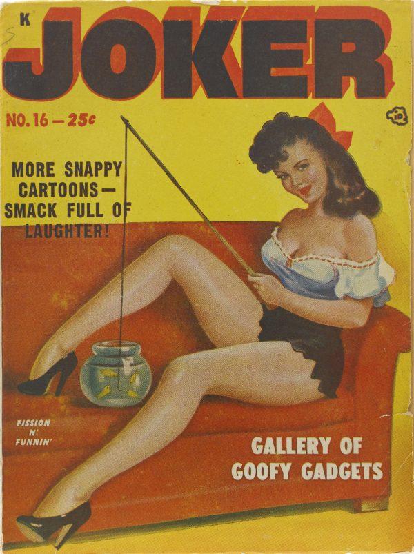 Joker #16 cover, 1949