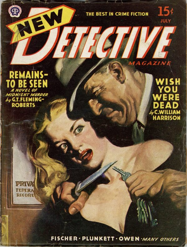 New Detective Magazine July 1945