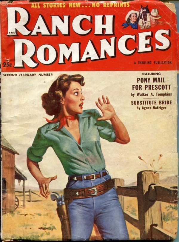 Ranch Romances February 1954