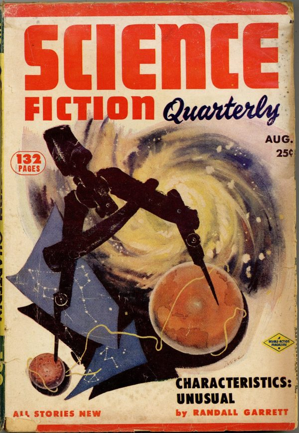 Science Fiction Quarterly August 1953