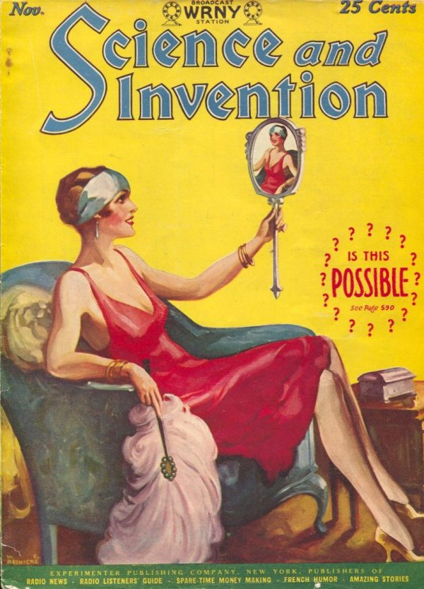 Science and Invention November 1927