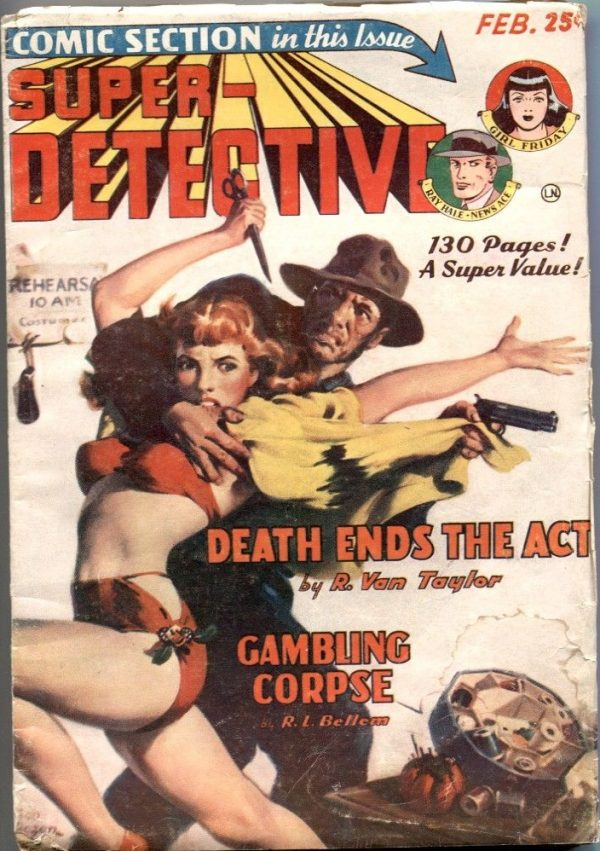 Super-Detective February 1950