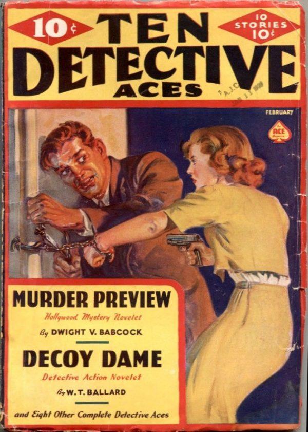 Ten Detective Aces February 1939