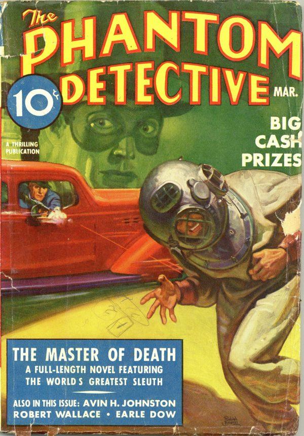 The Phantom Detective March 1938