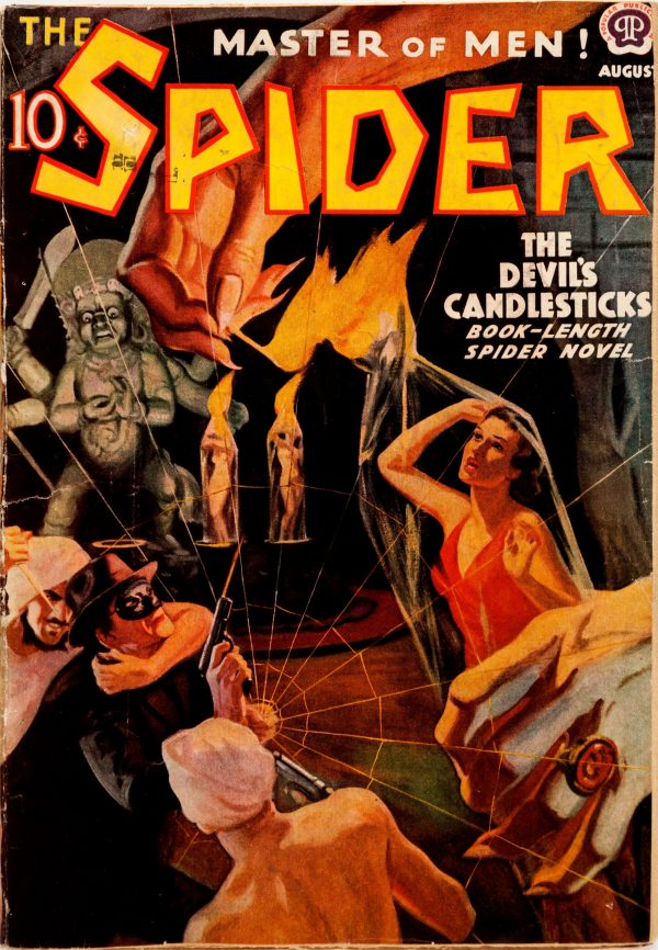 The Spider - August 1938