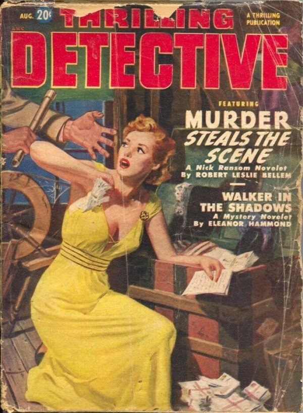 Thrilling Detective # August 1950