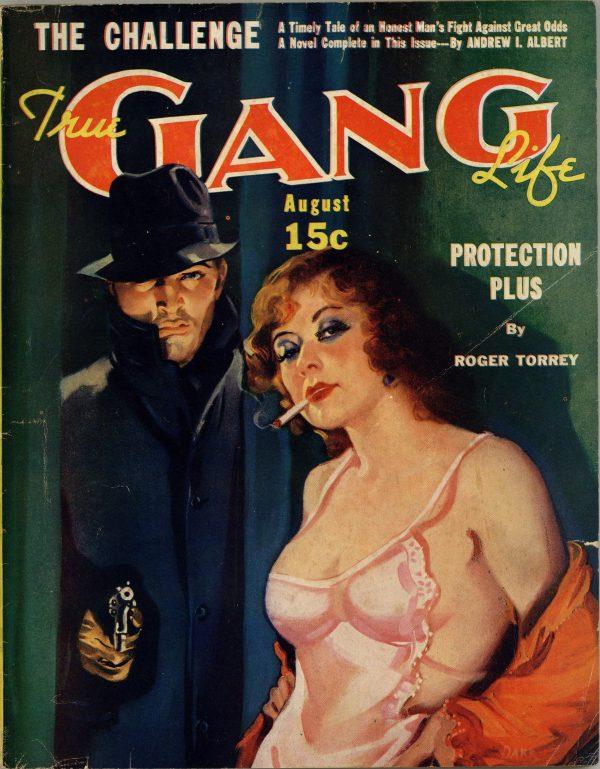 True Gang Life August 1937