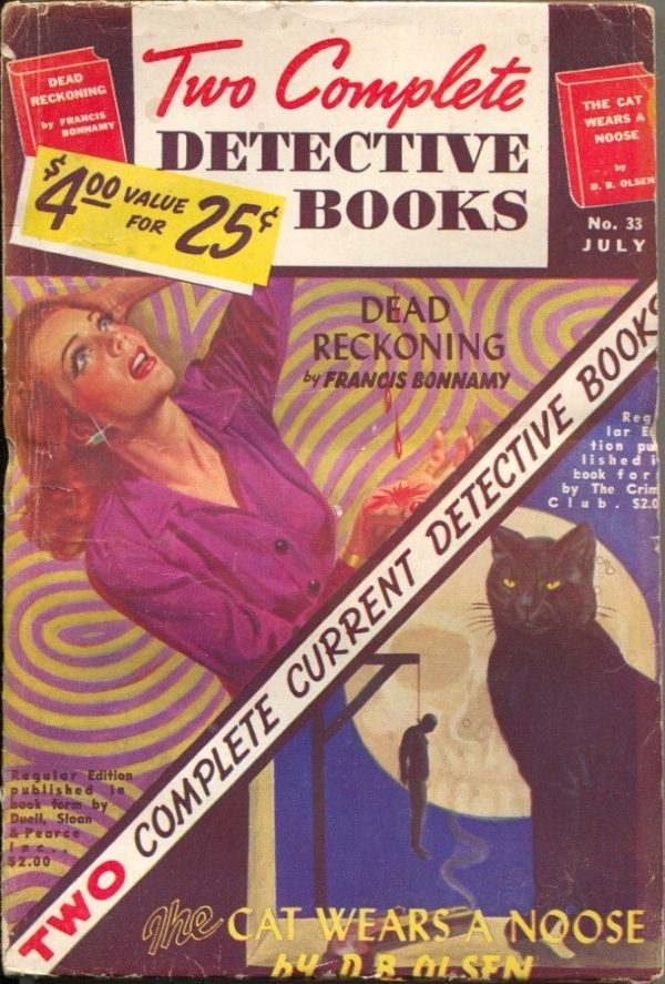 Two Complete Detective Books July 1945