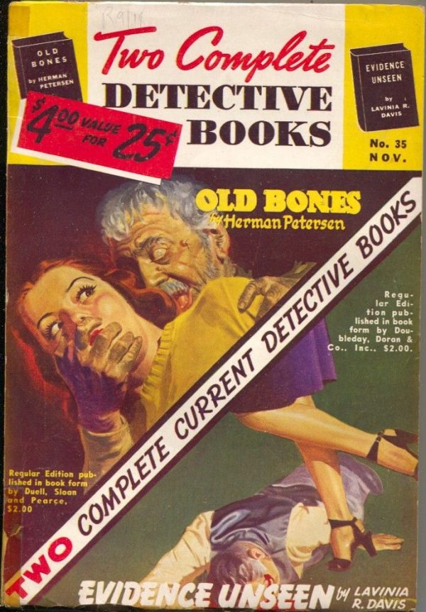 Two Complete Detective Books November 1945