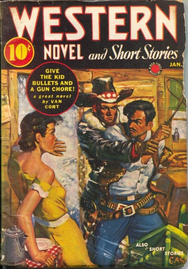 Western Novel And Short Stories January 1942
