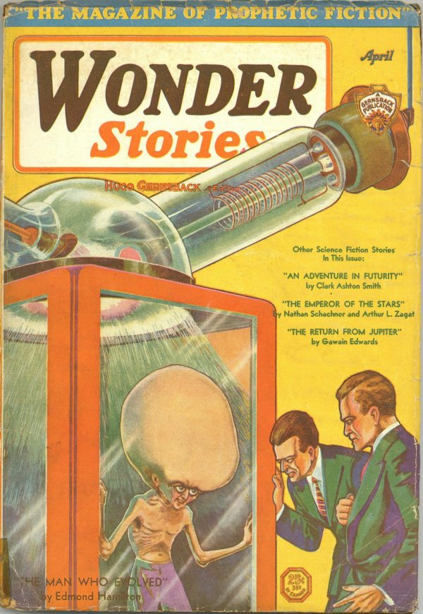 Wonder Stories April 1931
