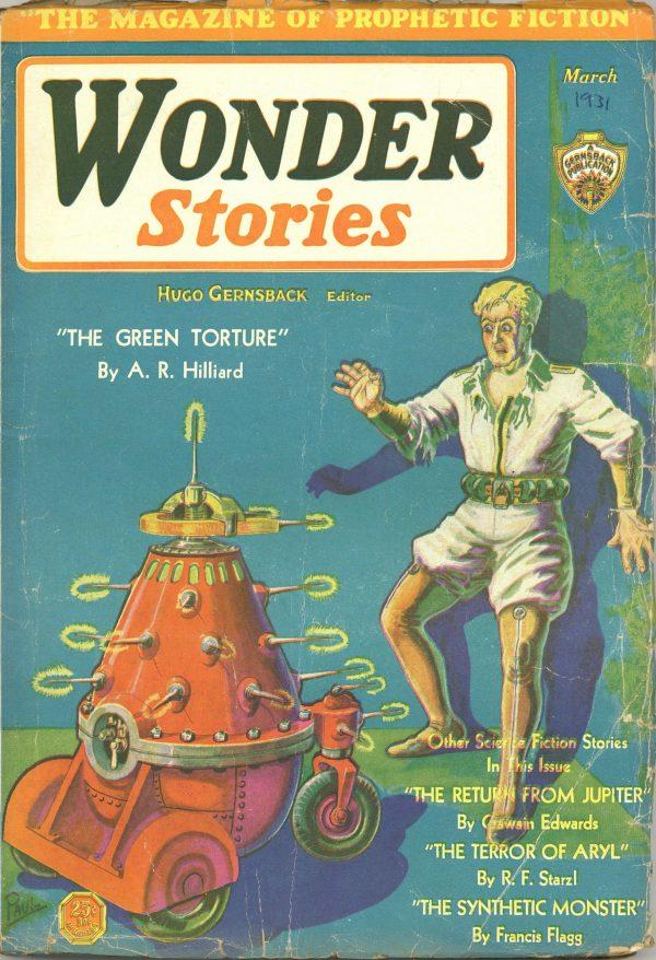 Wonder Stories March 1931