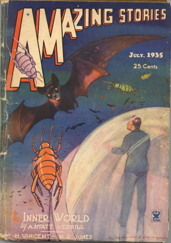 Amazing Stories July 1935