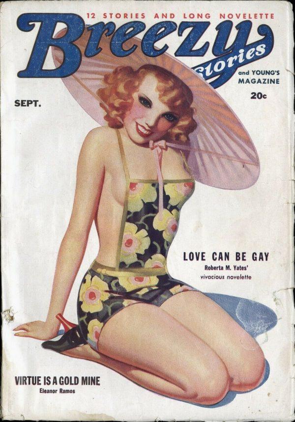 Breezy Stories Magazine September 1935