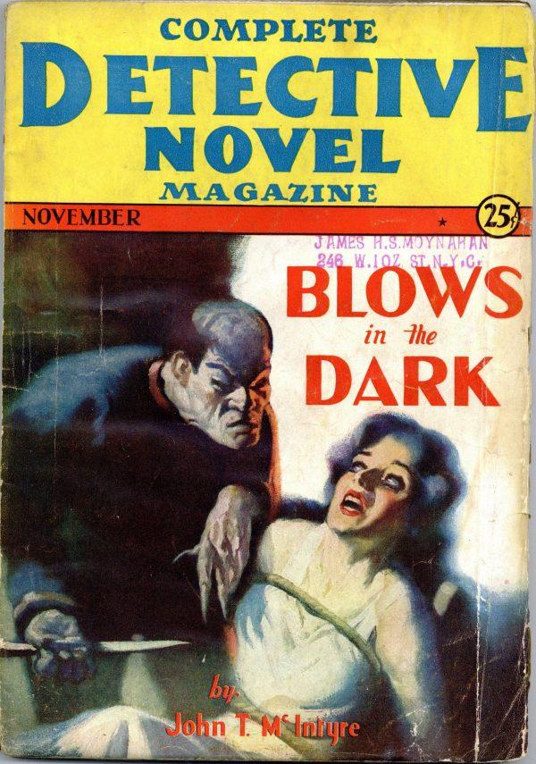 Complete Detective Novel November 1931