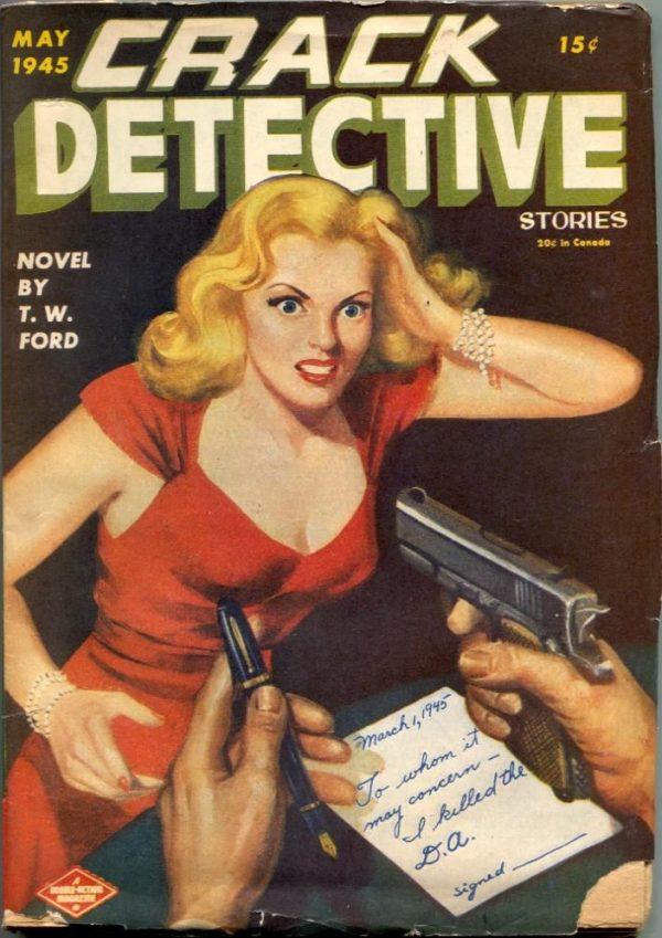 Crack Detective May 1945