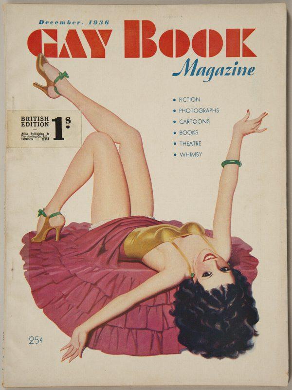 Dec. 1936 Gay Book British Edition