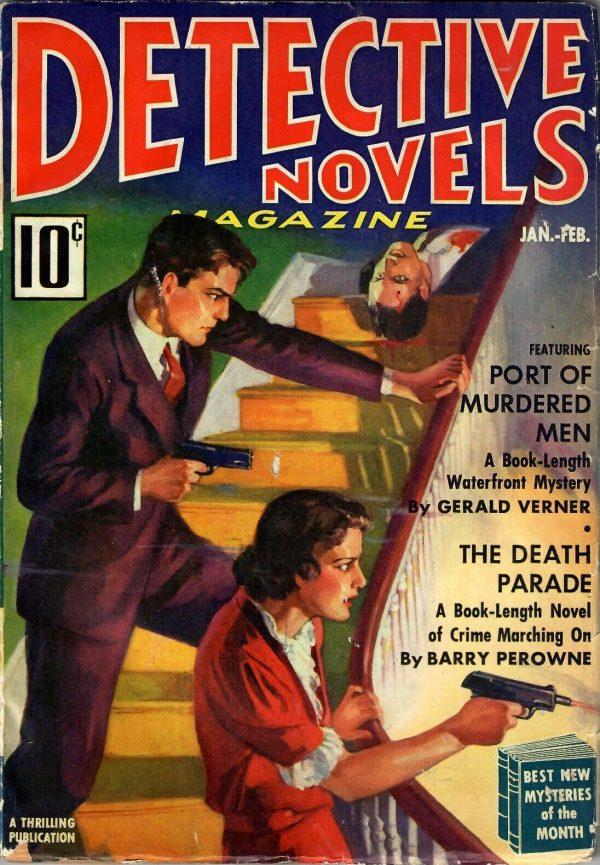 Detective Novels January-February 1938