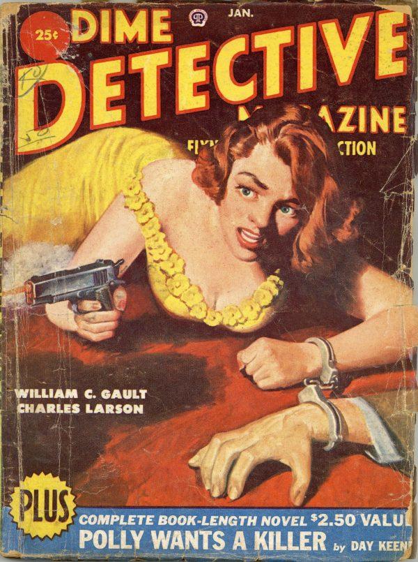 Dime Detective Magazine January 1951
