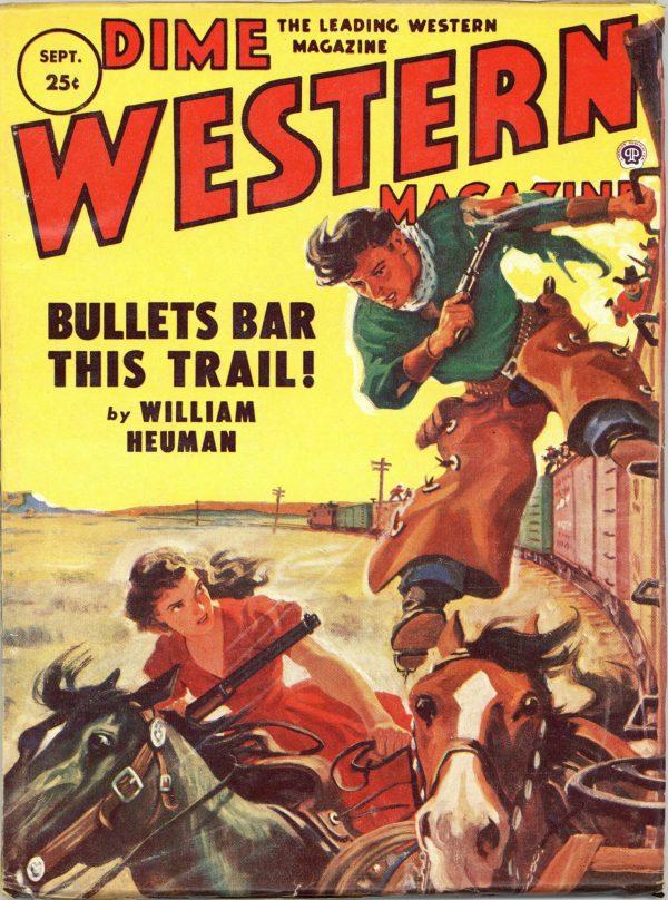 Dime Western Magazine September 1953