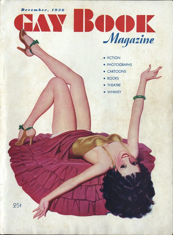 Gay Book Magazine December 1936