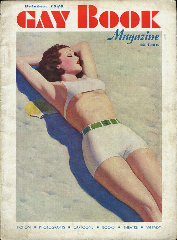 Gay Book Magazine October 1936