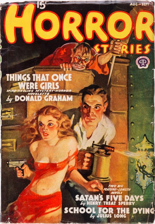 Horror Stories - August Sept 1938