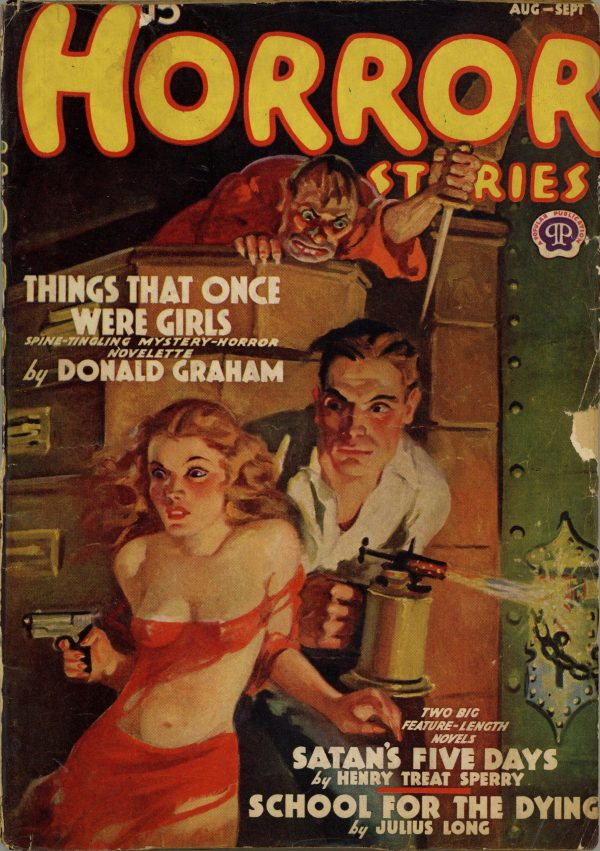 Horror Stories August September 1938