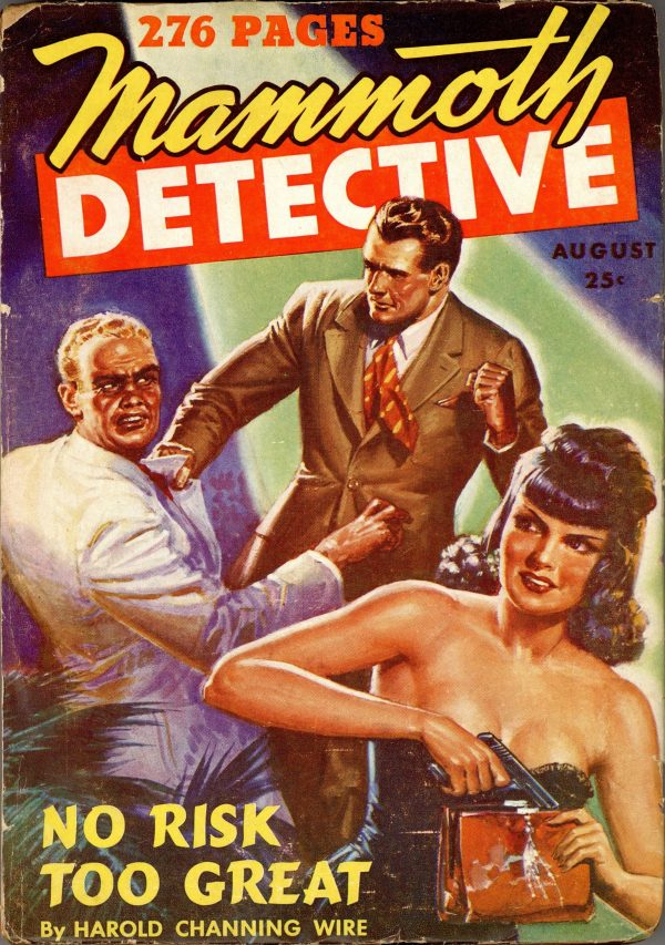 Mammoth Detective August 1943