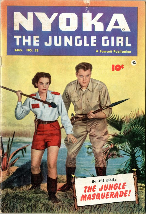 Nyoka the Jungle Girl August 1951