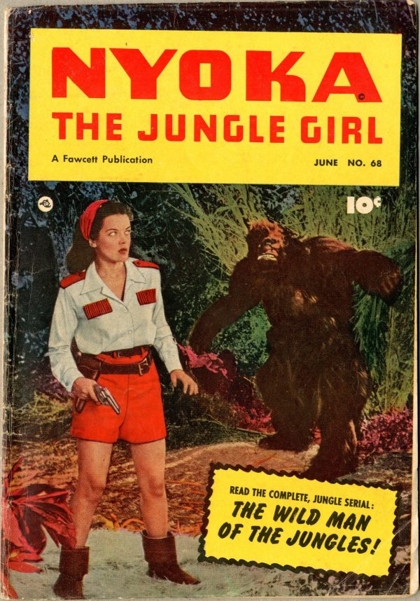 Nyoka the Jungle Girl June 1952
