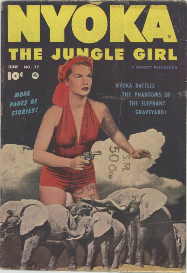 Nyoka the Jungle Girl June 1953