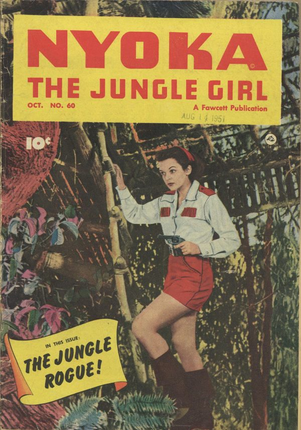 Nyoka the Jungle Girl October 1951